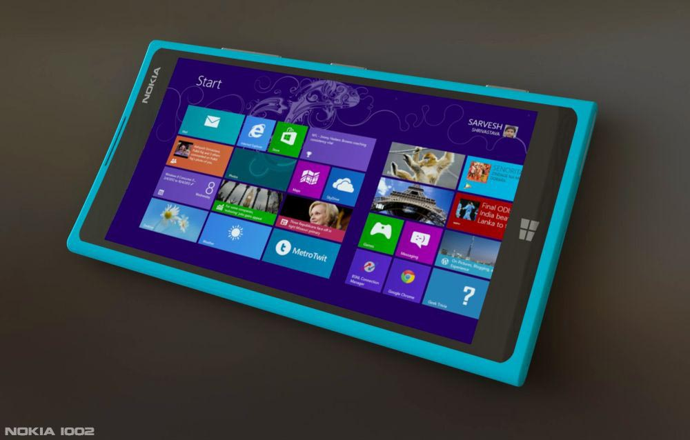 Nokia 1002 Phablet concept