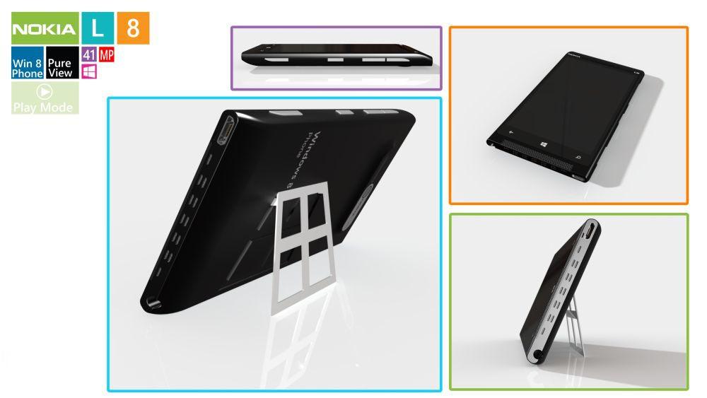 Nokia Lumia  8 concept