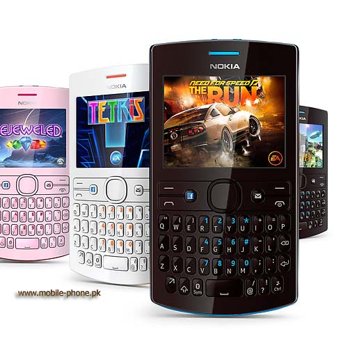 Nokia Asha 205 Dual SIM game apps