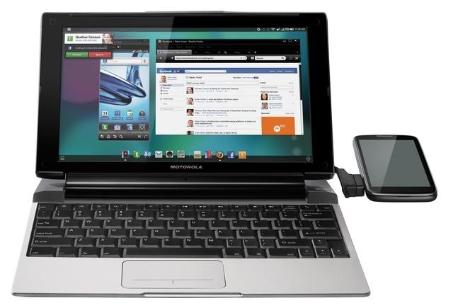 Motorola lap dock