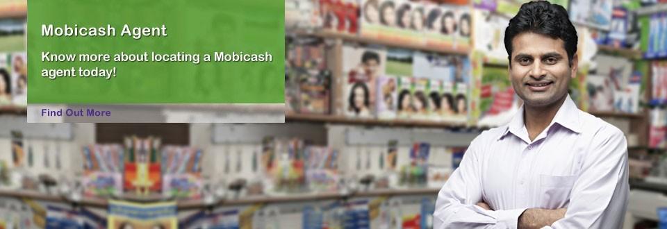 Money Transfer through Mobicash Agent