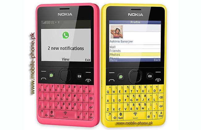 Stylish Nokia Asha 210
