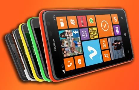 Nokia Lumia 625 Wallpaper