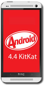 HTC One Android 4.4 KitKat