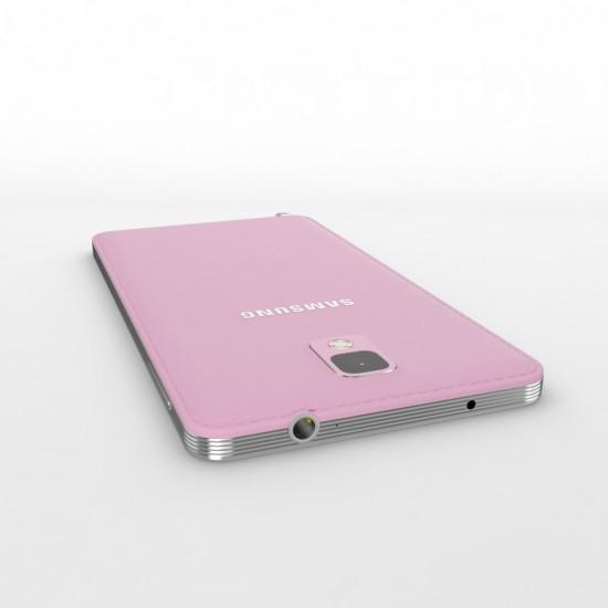 Pink Samsung Galaxy Note III
