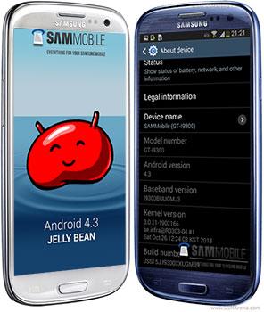 Samsung Galaxy S III Android 4.3