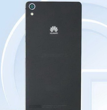 Huawei Ascend P6S Mobile Back View