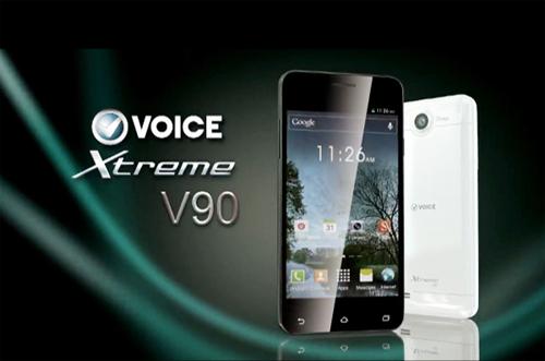 Xtreme V90 Voice Mobile Pics