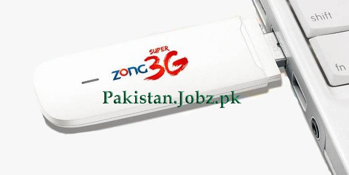 Zong 3G & 4G Dongle and MiFi Devices