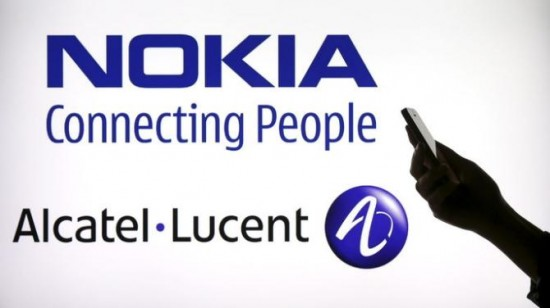 Nokia and Alcatel Lucent Picture