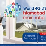 Warid 5GB 4G LTE Bundle for Islamabad and Rawalpindi (Trial)