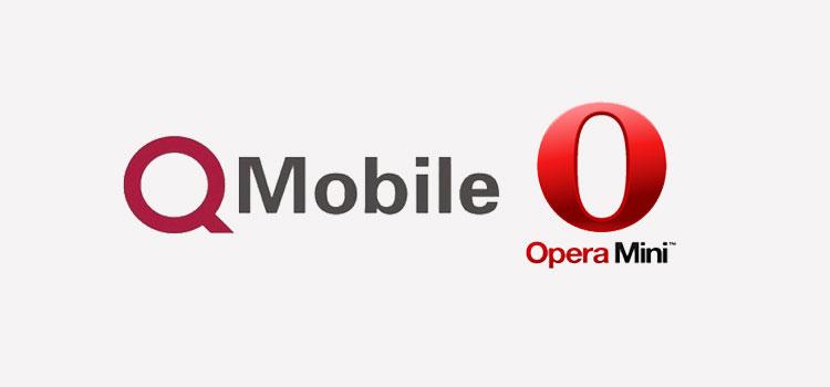 QMobile & Opera Mini
