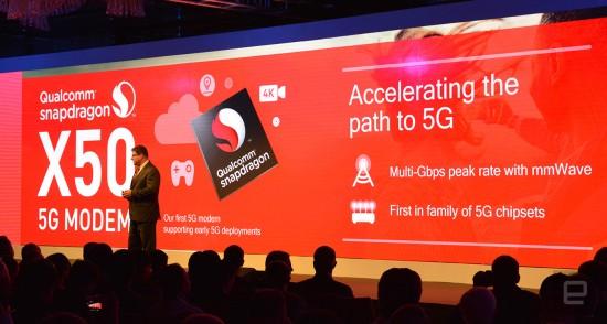 Qualcomm World First 5G Modem