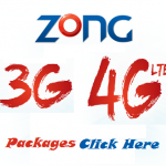 Zong increases price of 3G/4G MBB Packages