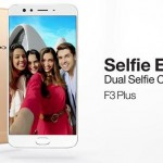 Oppo F3 Plus Smartphone Starts selling in Pakistan