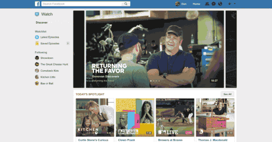 Facebook Launches Video Service as Competitor of Youtube