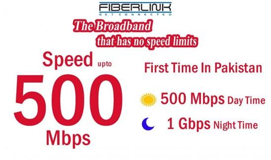 Fiberlink 500 mbps