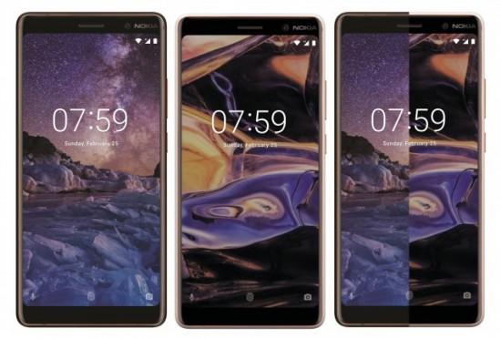 Nokia 7 Plus front