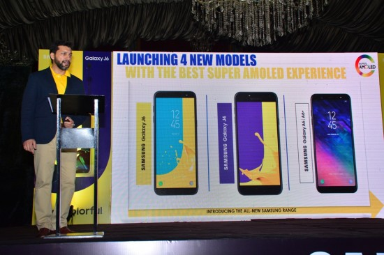 Samsung Galaxy A6 and A61