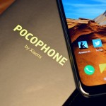 Pocophone F1 with box