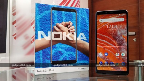 New Nokia 3.1 plus