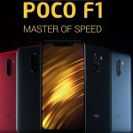 Xiaomi Poco F1 color varints_