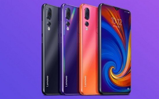 Lenovo Z5s colors