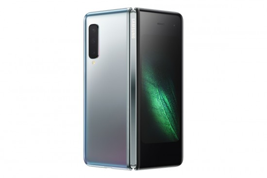 Samsung Galaxy Fold back open