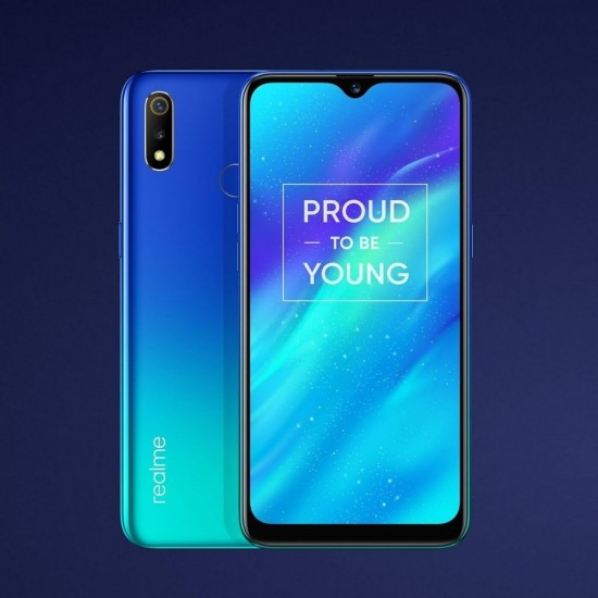 Oppo Realme 3 front and back