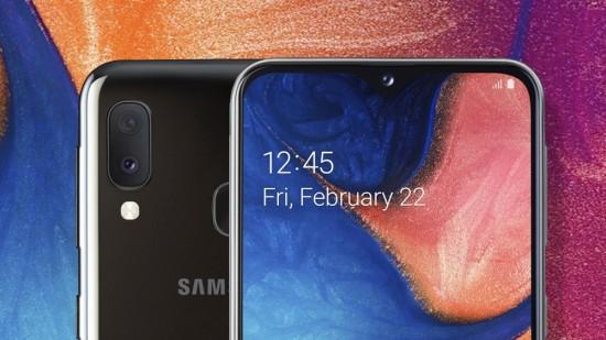 Samsung Galaxy A20e feature