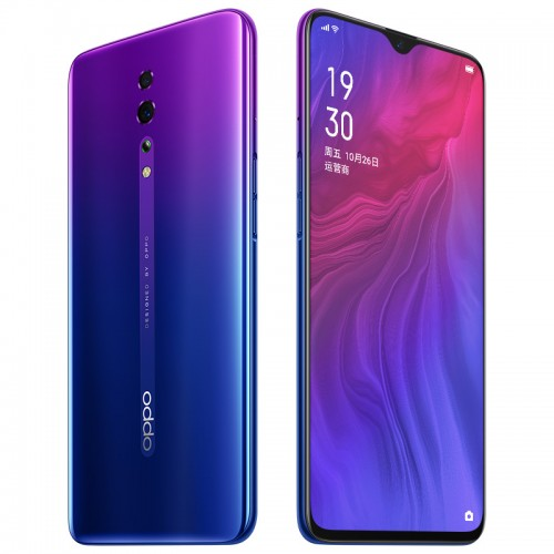 Oppo Reno Z front and back