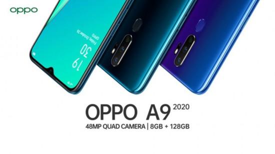 OPPO A9 2020 teaser