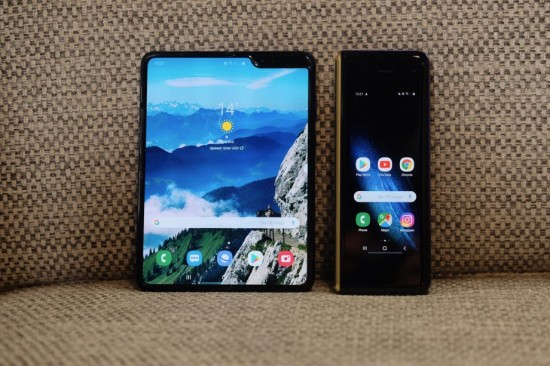 samsung galaxy fold phones