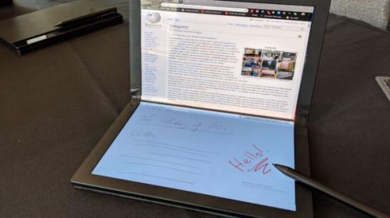 Foldable Laptop by Lenovo
