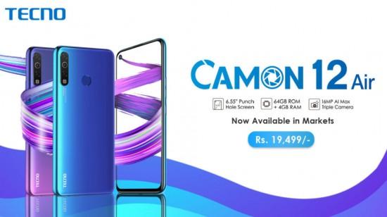 Tecno Camon 12 Air Smart Phone