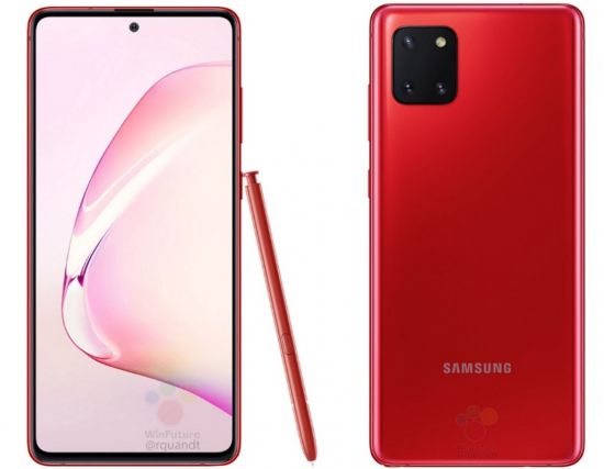 Note 10 Galaxy Samsung 2020
