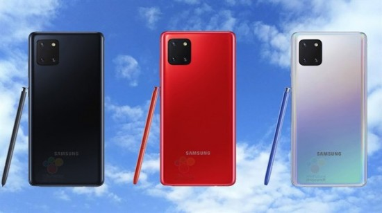galaxy note 10 lite colors