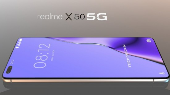 Realme X50 5G Perfect Design and Display