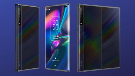 TCL to Release New Slide Out Display Phone