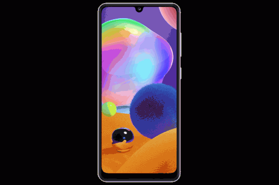 Samsung Galaxy A31 with Perfect Display