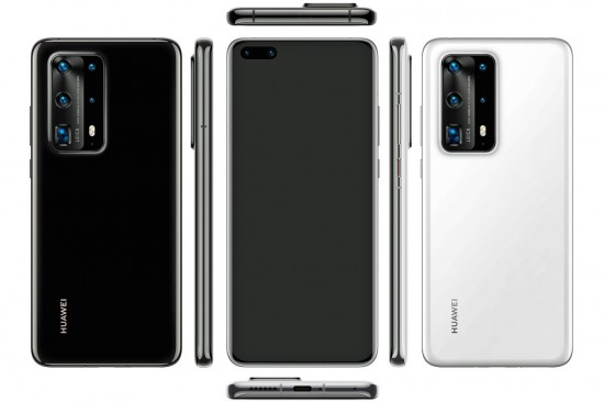 Huawei P40 and P40 Pro Design