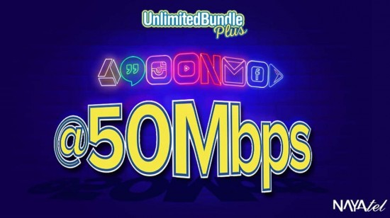 Nayatel Unlimited Bundle Plus to Extreme Speed