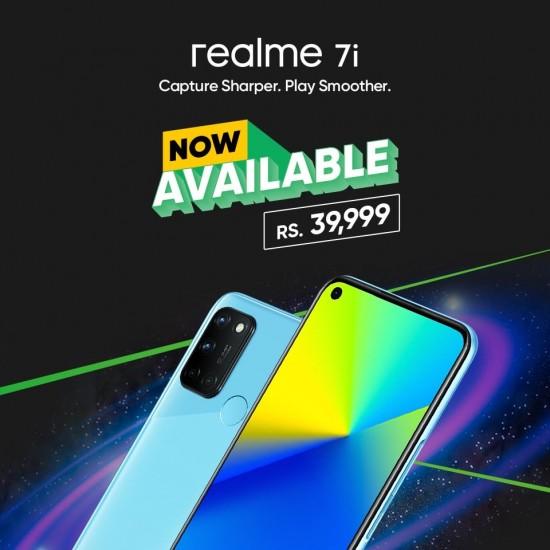 Realme 7i Official Price