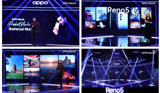 Oppo Announces TO Launch Reno 5 In Pakistan