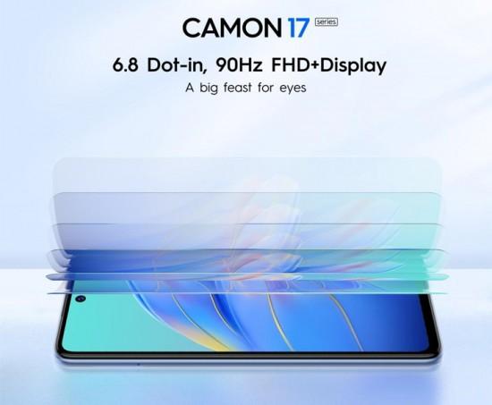 Tecno Is launching Camon 17 And Camon 17 Pro In Pakistan